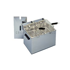 DEEP FAT FRYER DOUBLE WELL -TABLE TOP