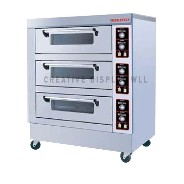 Electric Baking Oven 3 Deck