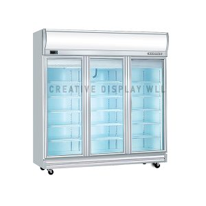 Display Freezer Three Doors 1500L