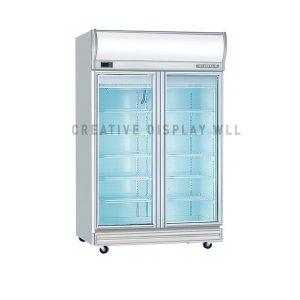 Display Freezer Two Door 980L
