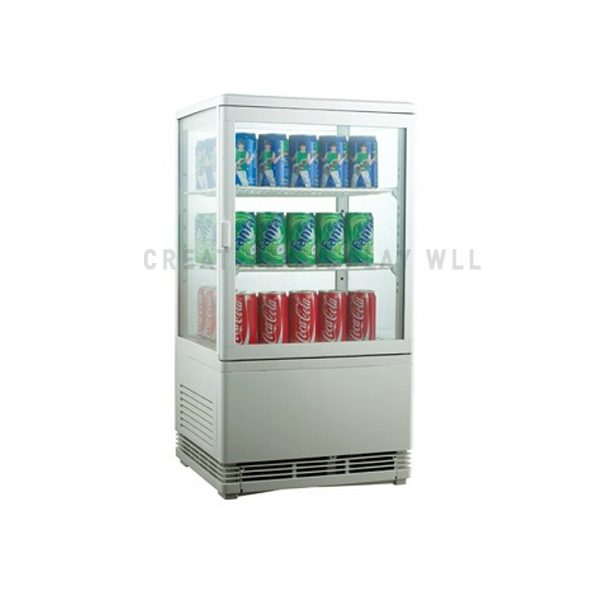 CURVED GLASS DOOR CHILLER - TABLE TOP
