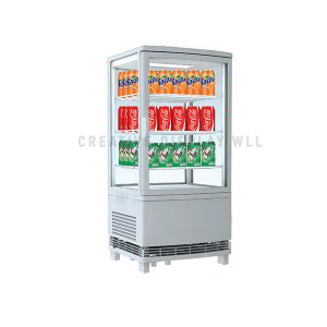 Curved Glass Door Chiller 72L