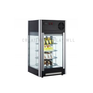 Rotating Glass Door Display Chiller 108L
