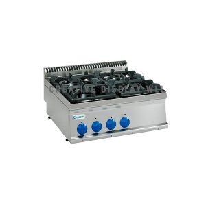 Gas Boiling Top- 4 Burner