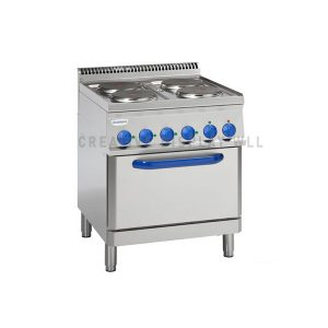 Electric Cooker with GN2/1 Oven Provided with 1 Grid