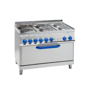 Electric Cooker with 6 Plates