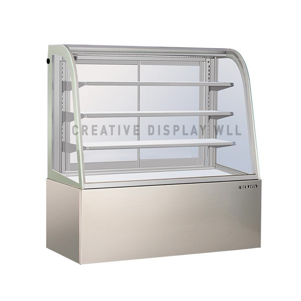 Pastry Display Chiller- Stainless Steel