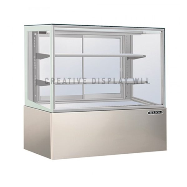 Pastry Display Chiller- Silver Laminated