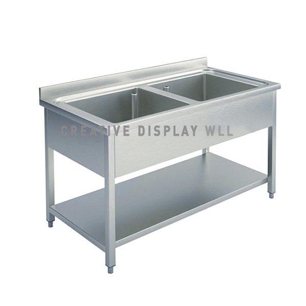 Double Bowl Sink 120cm