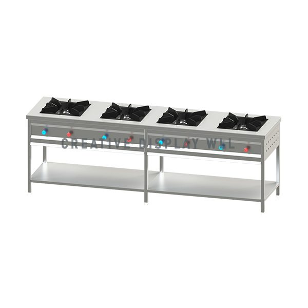 Indian Cooker 4 Burners