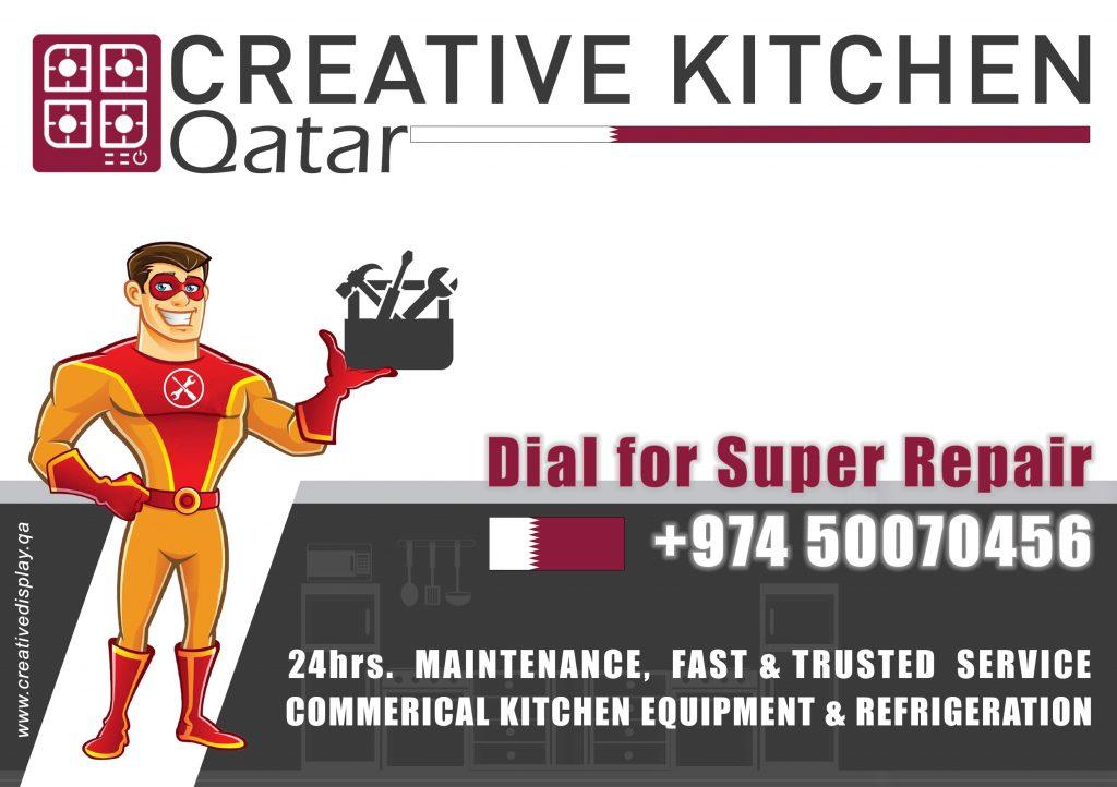 Commercial Kitchen Repair Qatar