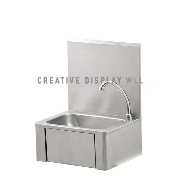 Knee operated Hand Wash Sink