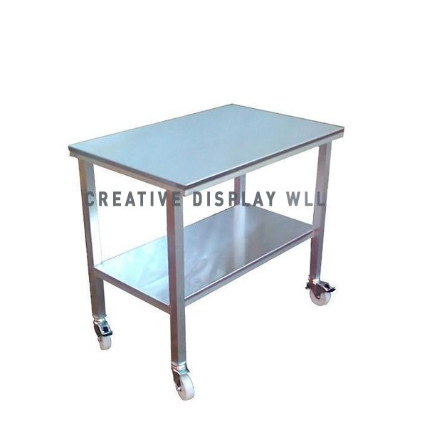 Mobile Work Top Table 150cm