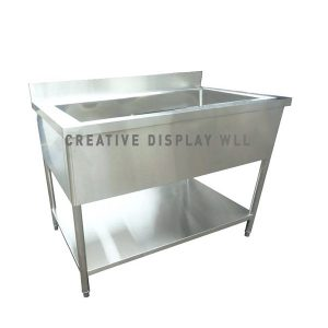 Open Type One Bowl Sink 120cm
