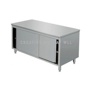 Table Cabinet with Sliding Door 150cm