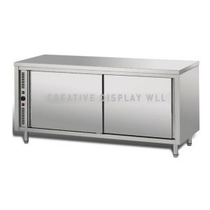 Table Warming Cabinet 180cm